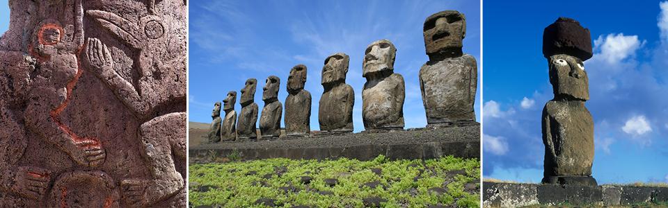 Moai sites